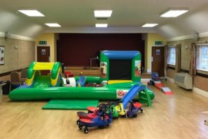 Hall with toddler Playzone
