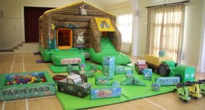 Little Farm Bounce and Slide Soft Play Package