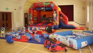 Pirate Bounce and Slide Soft Play Package