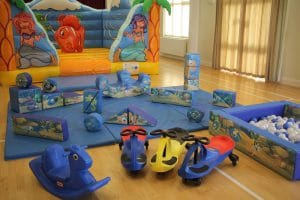 Sea Life Bouncer Soft Play Package