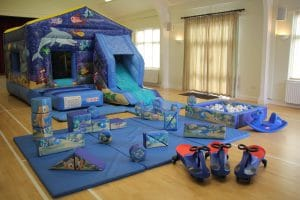 Sea World Bounce and Slide Soft Play Package