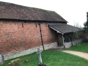 St Nicholas Churc Barn, Warndon, Worcester_1980