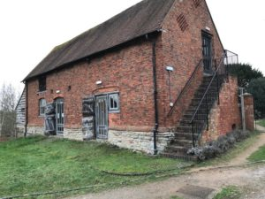 St Nicholas Churc Barn, Warndon, Worcester_1982