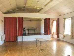 Grimley & Sinton Peace Hall Stage