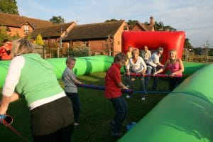Human Table Football 1 1 4