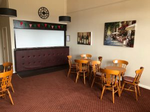 Hartlebury Village Hall Bar Area