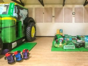 Mappleborough Green Village Hall Tractor with soft play