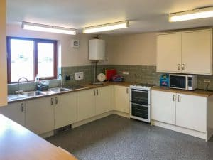 Norton & Lenchwick Village Hall Kitchen