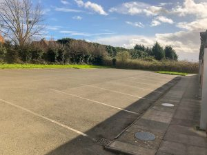 Norton & Lenchwick Village Hall Car park
