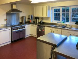 Ombersley Memorial Hall kitchen