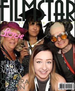 Photo Booth Magazine Cover