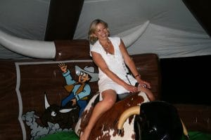 Rodeo Bull Bucking Bronco