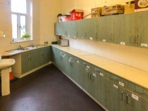 St Marks church hall kitchen