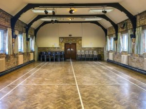 Empty Hall Front