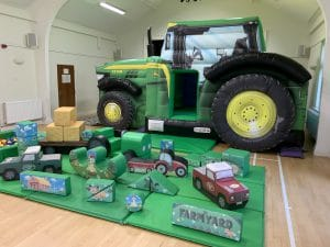 Tractor Bounce and Slide Soft Play Package Deluxe_0390