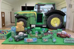 Tractor Bounce and Slide Soft Play Package Deluxe_0825