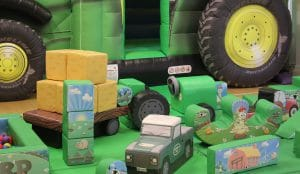 Tractor Bounce and Slide Soft Play Package Deluxe_5930