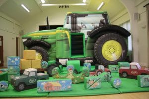 Tractor Bounce and Slide Soft Play Package Deluxe_5933