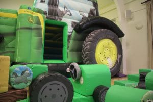 Tractor Bounce and Slide Soft Play Package Deluxe_5939