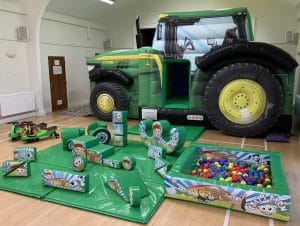Tractor Bounce and Slide Soft Play Package_0652