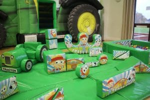 Tractor Bounce and Slide Soft Play Package_5998