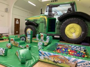 Tractor Bouncy Castle Soft Play Package_4531