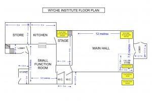 Wyche Institute Floor Plan