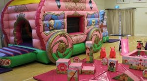 Princess Carriage Soft Play Package
