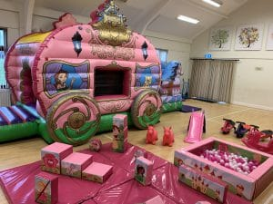 Princess Carriage Soft Play Package_6549