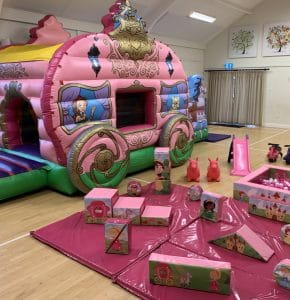 Princess Carriage Soft Play Package_8771
