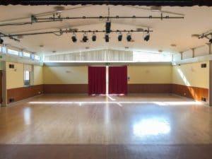 Bosbury Parish Hall empty