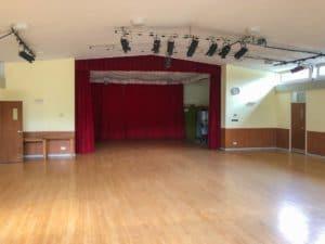 Main hall empty